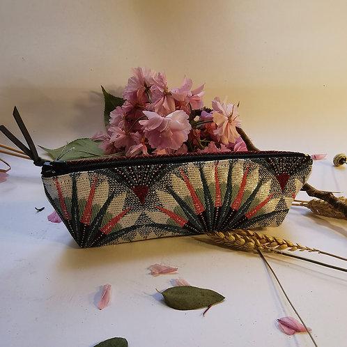 Trousse florale rouge