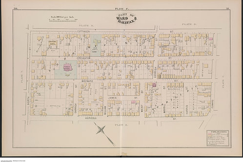 Fire Insurance Plan - Halifax North End