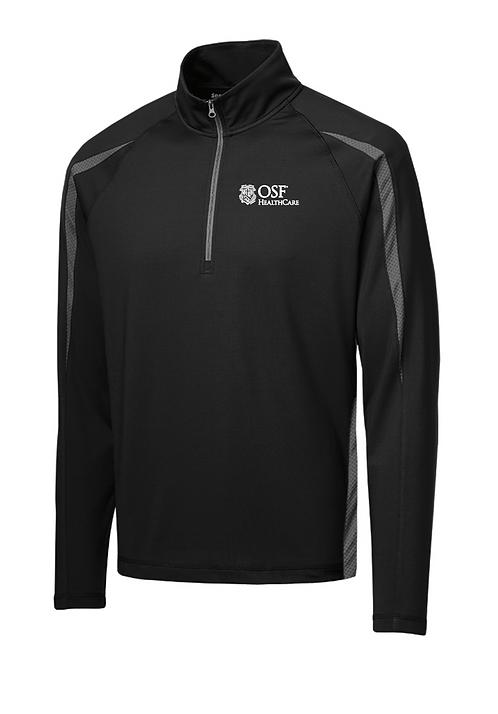 Sport-Wick Stretch 1/2-Zip Colorblock Pullover