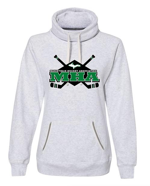 Women's Relay Cowl Neck Sweatshirt