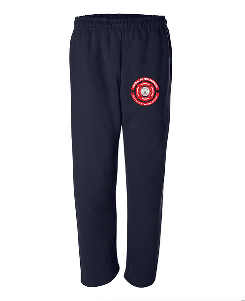Open-Bottom Sweatpants with Pockets
