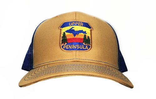 Biscuit Blue Upper Peninsula Snapback
