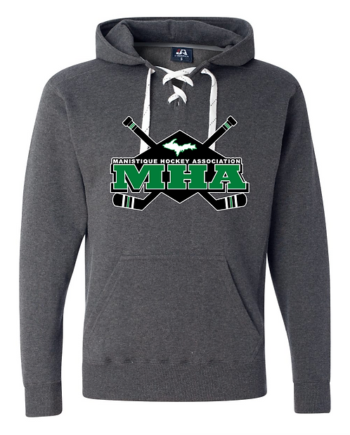 Hockey Laced Hooded Sweatshirt