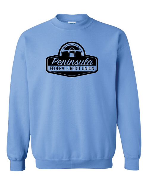 Single Color Crewneck Sweatshirt