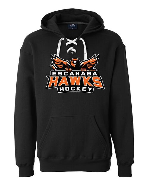 Hockey Laced Hooded Sweatshirt