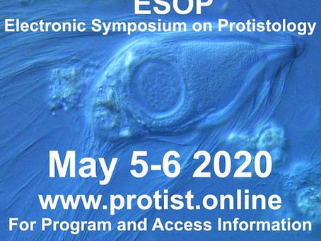 Announcing ESOP - the Electronic Symposium on Protistology - May 5-6, 2020
