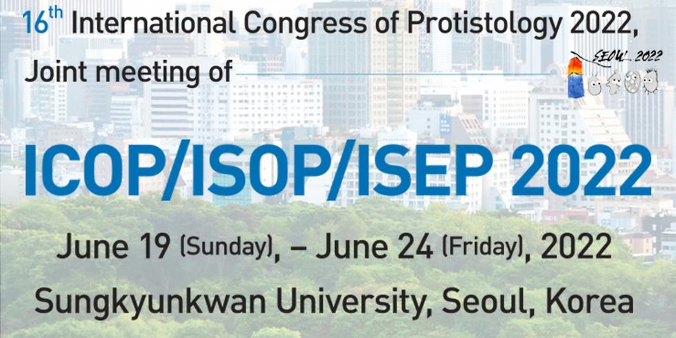 16th International Congress of Protistology 2022