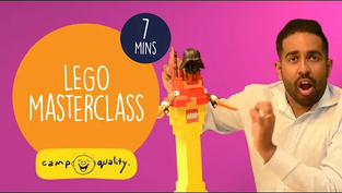 LEGO® Building Masterclass For Kids from #CampIn Live
