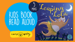 'Leaping Lola' - Kids' Book Read Aloud By Author Tracey Hawkins