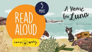 'A Home For Luna' - Kids' Book Read Aloud By Stef Gemmill