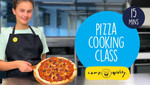 How To Make Two Delicious Homemade Pizzas - From #CampIn Live