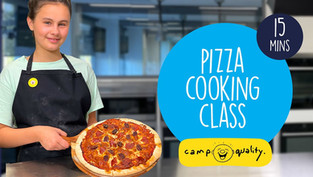 How To Make Two Delicious Homemade Pizzas | from #CampIn Live