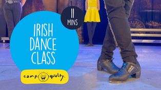 How To Do Irish Dancing from #CampIn Live