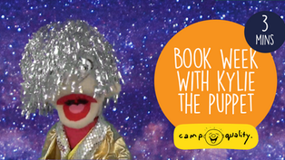 Kylie, The Camp Quality Puppet, Tells An Adventurous Story For Book Week!