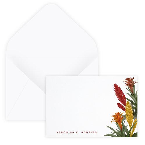 Bromeliad Notecard