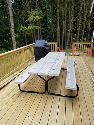 Doubleday Field Picnic Table