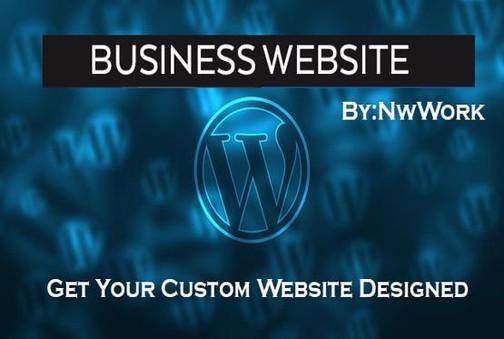 Wordpress Website Design by PromobyNW.jp