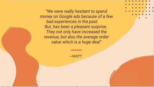 Google Ads Success Story clothing shop sales review.png