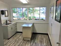 Veterinary examination room in Pinehurst NC