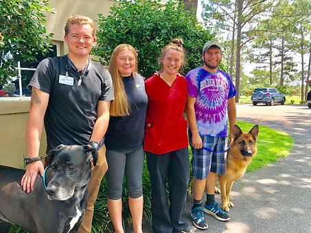 Kennel Assistants at Pinehurst Animal Ho
