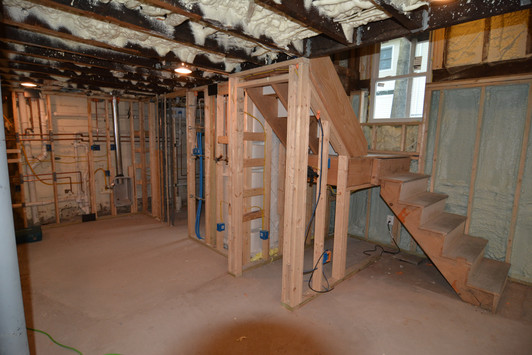 Apartment #1 Basement Progress