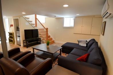 Apartment #1 Basement Living