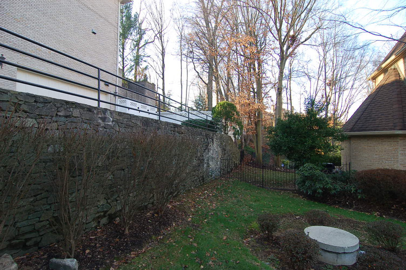 Retaining Wall Existing