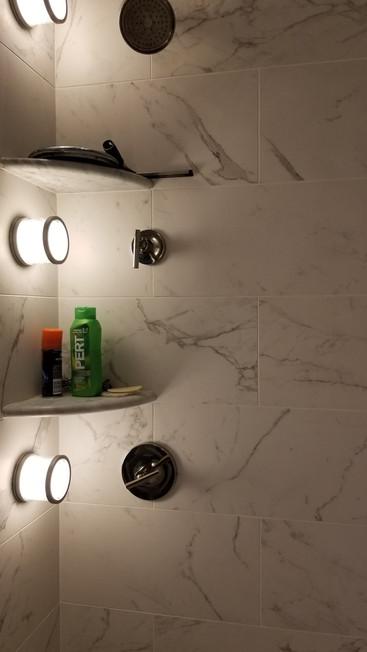 Master Bath Shower New