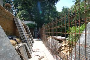 Retaining Wall Progress