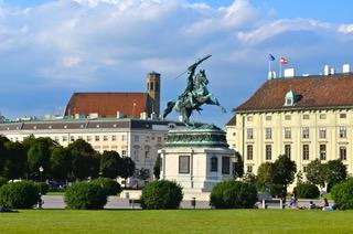 Helden-Platz.  Heroes from its Imper