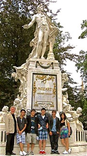 Paying our respects to Mozart