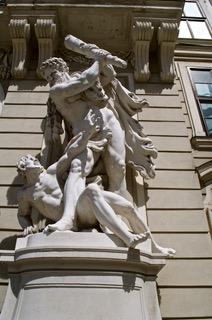 Mythological Heroes protect the Empi