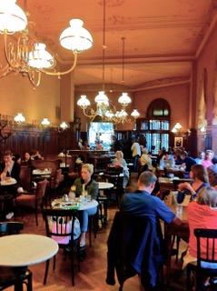 Cafe Sperl. Artists Hangout