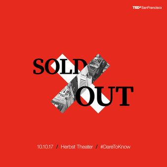 We're sold out!