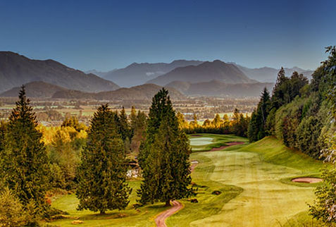 The falls golf and country club in chilliwack.  Fat Action Fishing Adventures