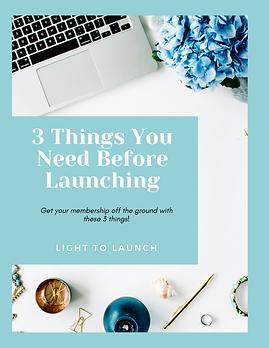 3 Things Beginner Launch.png