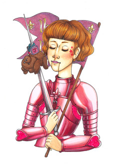 Teenage Joan of Arc