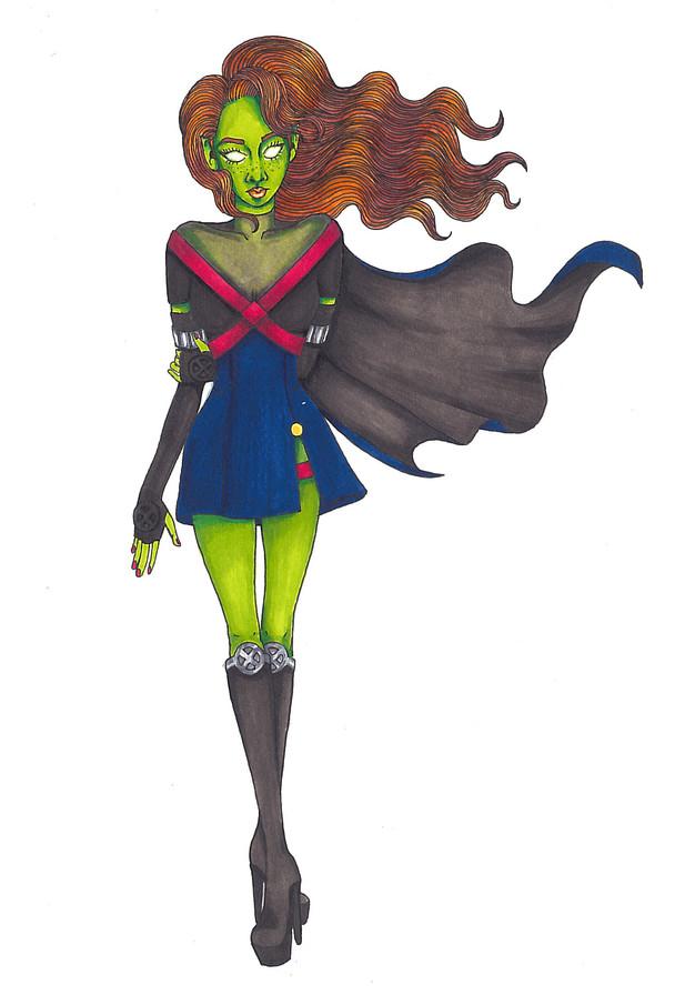 Costume Design for Miss Martian