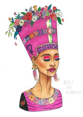 Teenage Nefertiti