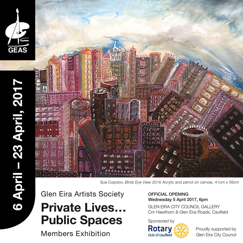 Private Lives, Public Spaces - poster.jp
