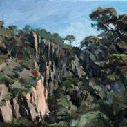 Werribee Gorge No9