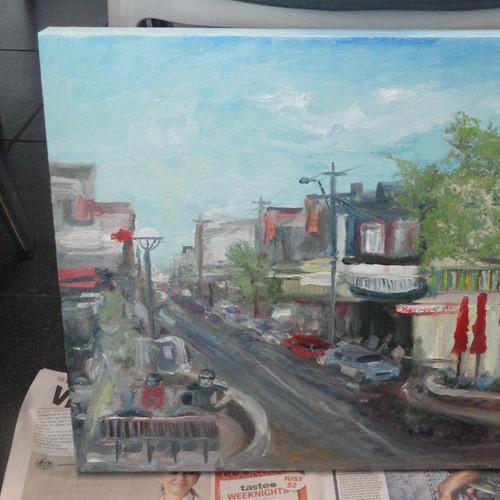 Cityscape 2014 - artwork by Chris Lunn.J