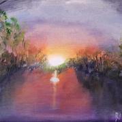 Sunrise at Kunanarra Lake