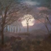 Moon Rise at Arkansas USA