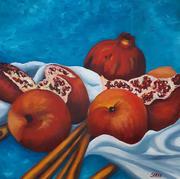 Pomegranates and Apples