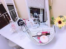 チャットで使用するお化粧道具