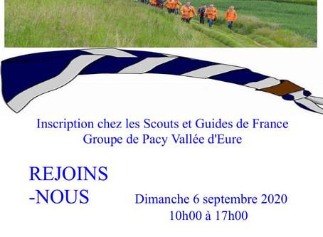 Scouts et Guides de France - Nouvelle année