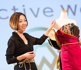 デザイナー西川温 和ドレス