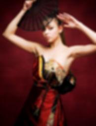 ウェディングドレス Atsu Nishikawa ウエディングドレス お色直し 和装 着物 和柄ドレス 和ドレス 着物ドレス