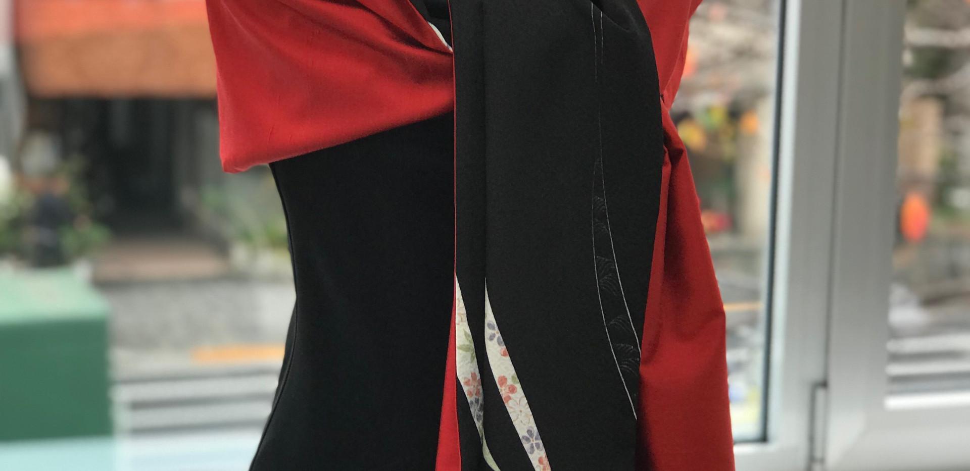 オーダー 卒業式 謝恩会 パーティー 社交界 成人式 二次会 和ドレス 着物ドレス